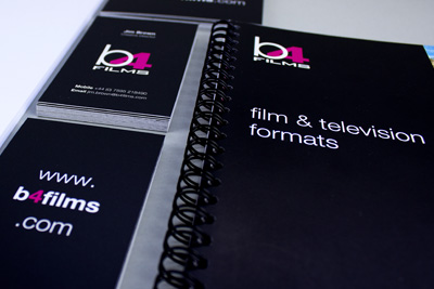 b4films Graphic Design Work
