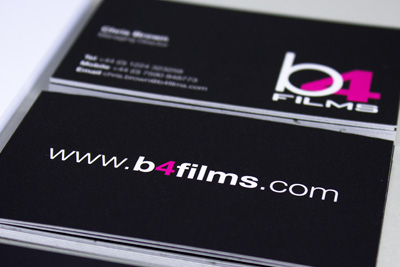 b4films Design Work