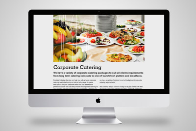 Foodies Catering Service Website